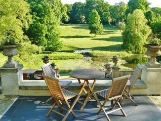 Terrassen aus Naturstein
