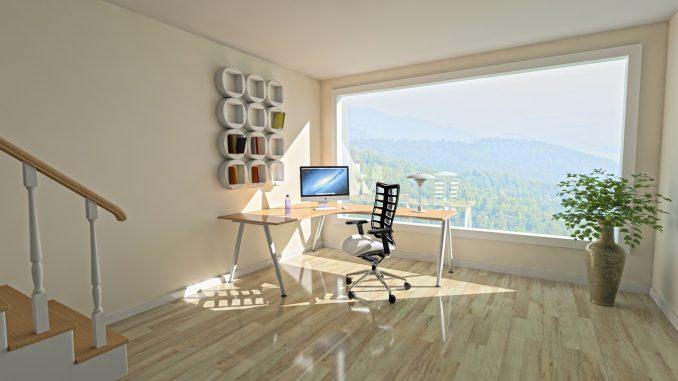 Büro in der eigenen Wohnung